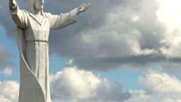 257469 die christus konig statue in wiebodzin woiwodschaft lebus polen e1498472166784